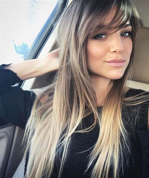 2019 Popular Long Hairstyles With Side Bangs And Layers