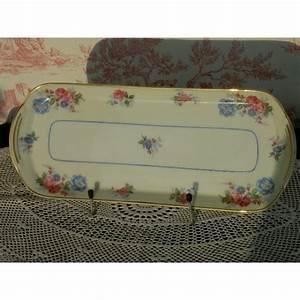 Plat à Cake : plat cake en porcelaine de limoges ann es 30 brocante lestrouvaillesdecaroline ~ Teatrodelosmanantiales.com Idées de Décoration