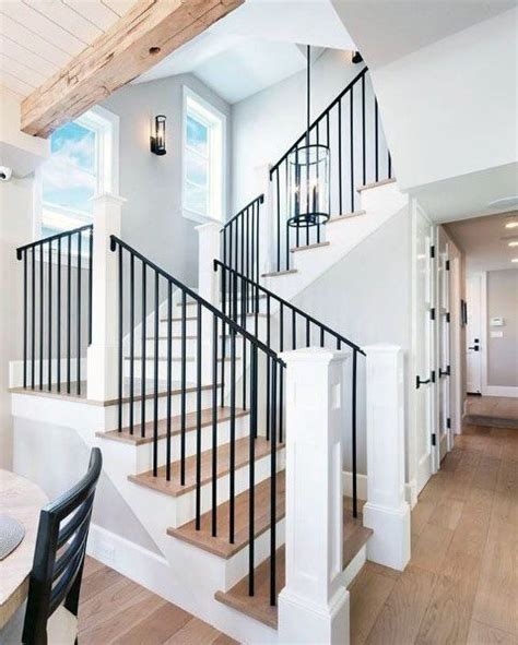 Stair Banister Ideas by Top 70 Best Stair Railing Ideas Indoor Staircase Designs