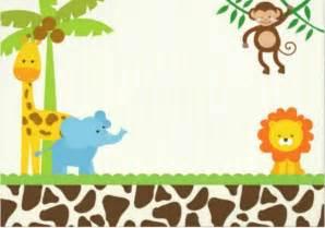 Animal Baby Shower