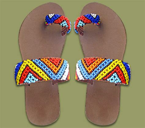 traditional womans clothing beaded sandals zulu
