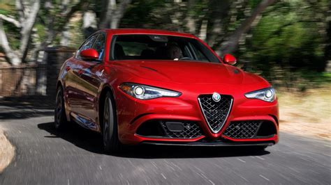 Alfa Romeo Top Gear by Alfa Romeo Giulia Quadrifoglio Review Tested In The Us