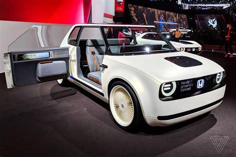 Honda's Urban Ev Concept Is Even More Adorable In The