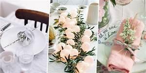 Idee Deco Pour Mariage : deco de table pour un mariage diy marie claire ~ Teatrodelosmanantiales.com Idées de Décoration