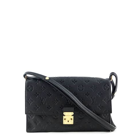 louis vuitton black empreinte fascinante bag authentic lv bags