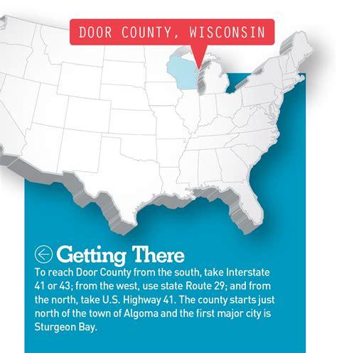 door county csites into door county wisconsin motorhome magazine