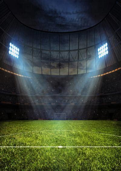 shop photography backdrop night football stadium  child