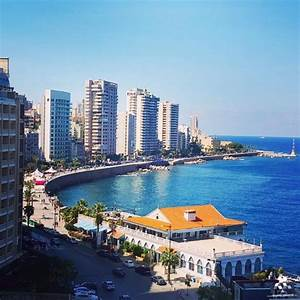 A Beautiful View Of Beirut Seaside By Jessica Obeid
