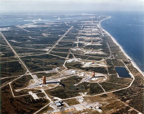 Canaveral Florida by Picture Of The Day Nasa S Missile Row At Cape Canaveral