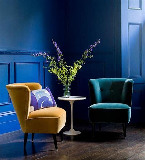 tapisserie pour cuisine 1001 idées créer une déco en bleu et jaune conviviale