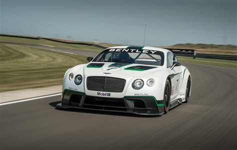 Bentley Continental Gt3 Race Car To Make Competitive Debut