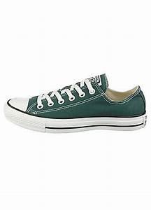 Converse Shoes Dark Green