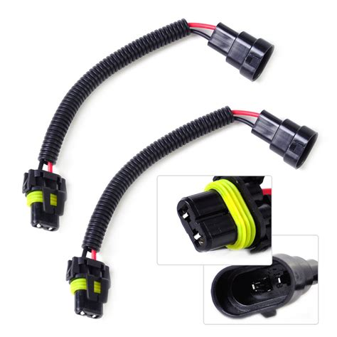 Pcs Headlight Fog Light Wiring Harness Socket