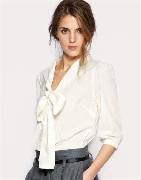 bow neck blouse best 25 tie neck blouse ideas on