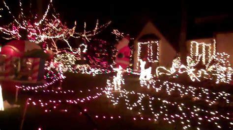 thompson house christmas lights in marietta youtube