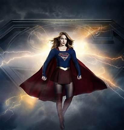 Supergirl Background Season Kara Desktop Danvers Poster