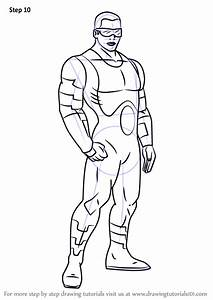Step By Step How To Draw Power Man From Ultimate Spider