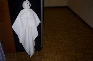 How, To, Make, A, Floating, Ghost, For, Halloween