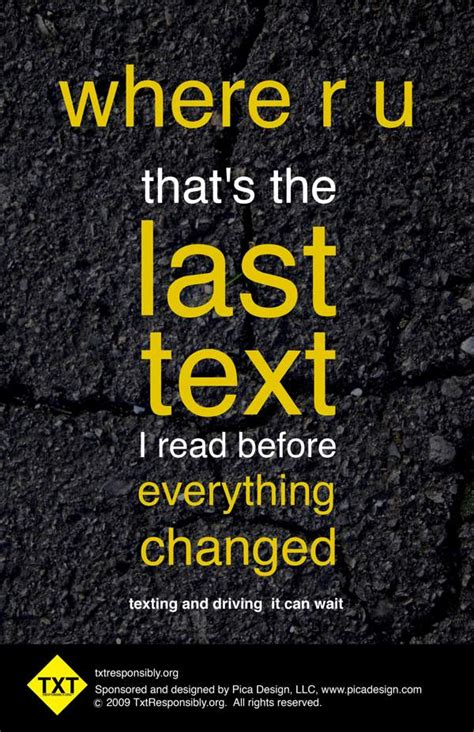 Texting While Driving - Mitchell Insurance Agency