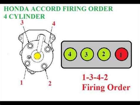 Honda Accord Distributor Firing Order Youtube