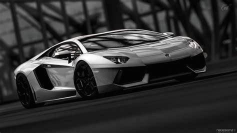 Car Wallpaper Black And White by Black And White Cars Lamborghini Gran Turismo