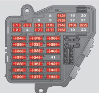 seat exeo st  fuse box diagram auto genius