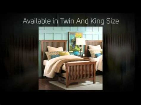 bassett furniture grove park gallery bed youtube