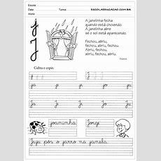 Profª Adriana, Alfabetizando Com Amor Atividades De Caligrafia Para Imprimir