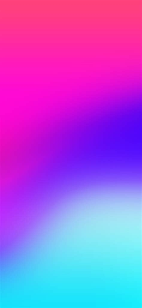 Aesthetic Lime Green Iphone Wallpaper by Ios 11 Iphone X Pink Blue Clean Simple Abstract