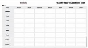 12 week workout calendar template eoua blog With fitness plan template weekly