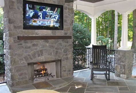 covered patio with fireplace pictures to pin on