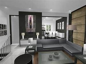 Deco Design Salon : idee de deco salon ~ Farleysfitness.com Idées de Décoration