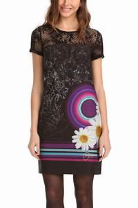 desigual galactic dress black xl born2style fashion store With desigual robe noire