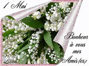 gifs 1er mai 4 mon mag online With affiche chambre bébé avec bouquet de fleurs muguet