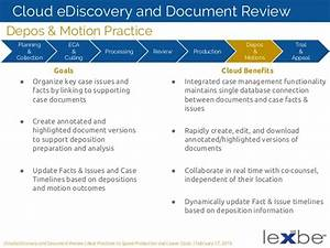 a litigator39s guide to cloud based ediscovery and document With cloud based document management reviews