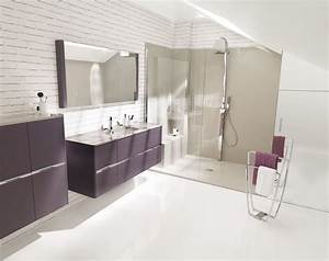salle de bain design moderne sur mesure gbs With salle de bains moderne photos
