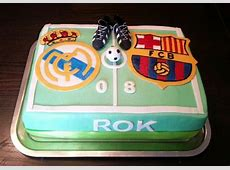 Real Madrid vs Fc Barcelona cake My cake Pinterest