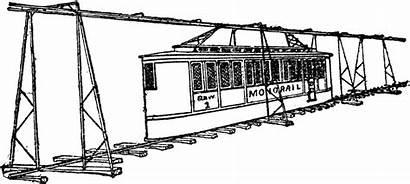 Monorail Clipart Tunis Etc Medium Tiff Usf