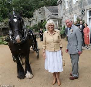 Prince Charles and Duchess of Cornwall step back in time ...