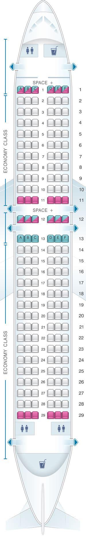 boeing 737 300 plan si鑒es seat map latam airlines brasil airbus a320 174pax seatmaestro