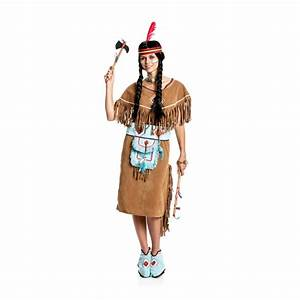 Indianer Damen Kostüm : indianerin kost m ishani squaw damen ~ Frokenaadalensverden.com Haus und Dekorationen