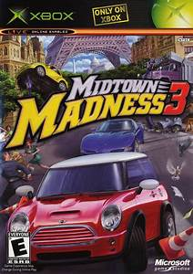 Midtown Madness 3 Box Shot For Xbox Gamefaqs