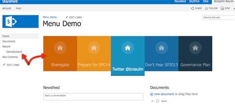 sharepoint templates build a sharepoint search driven animated menu sharegate