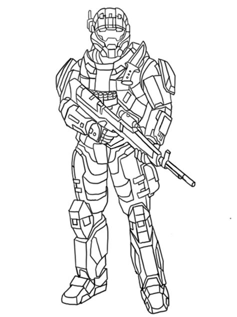 halo coloring pages    print