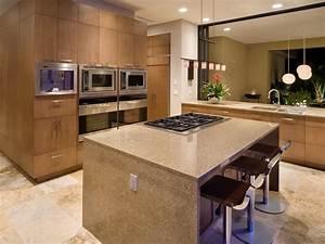 Cuisine idee cuisine ouverte sur salon avec violet for Idee deco cuisine avec fabricant de cuisine