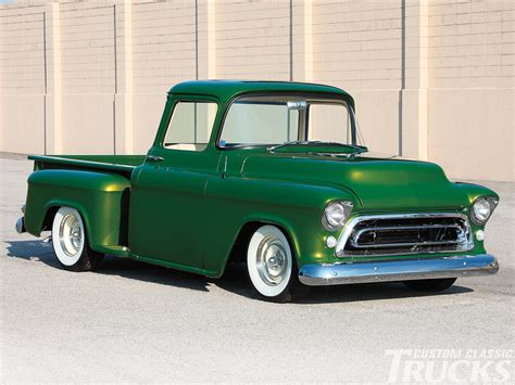 1956 Chevy Truck  Emerald Beauty  Hot Rod Network