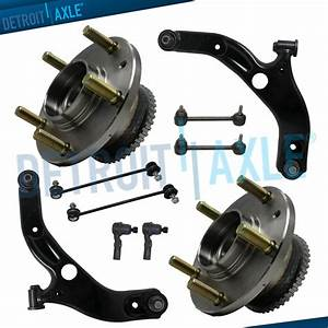 Brand New 10pc Complete Front And Rear Suspension Kit For 2001