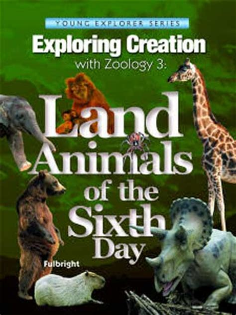 apologia science zoology  land animals    day