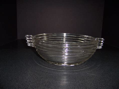 Anchor Hocking Manhattan Glass Bowl