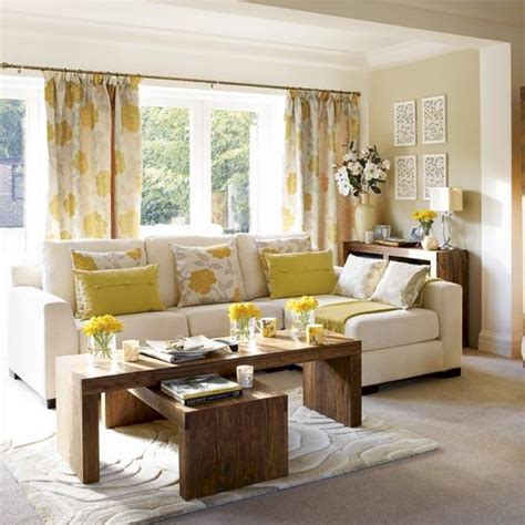 yellow livingroom yellow and gray curtains contemporary living room